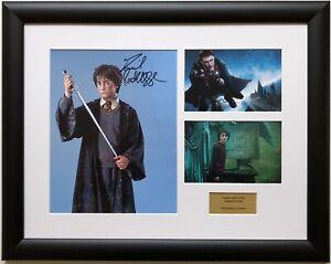 Daniel Radcliffe / Harry Potter / Signed Photo / Autograph / Framed / COA