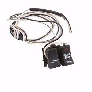 NEW Twin Power - RPLS71589-92 - Stop/Start Switch, Black HARLEY FREE SHIP