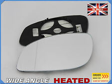 VAUXHALL VECTRA C 2002-2009 Wing Mirror Glass  Aspheric HEATED Left Side /F021