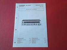 Blaupunkt r-4100 receiver 7621100 org. Service instrucciones manual