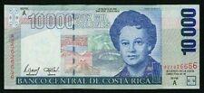 COSTA RICA  2002  10,000 COLONES  BANKNOTE, GEM CRISP UNCIRCULATED