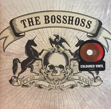 Boss Hoss - Rodeo Radio red and brown limited edition new sealed vinyl rare