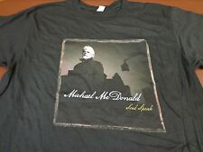 Michael McDonald 2008 Soul Speak Concert American Tour T Shirt NEW  Large  W7