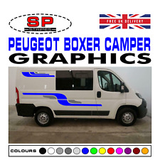 Peugeot Boxer SWB Camper Van Motorhome Graphics Vinyl Decals Panel Styling 03