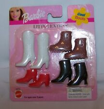 Vintage Barbie Doll Little Extras Cool Boots-1999