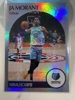 2020-21 Panini NBA Hoops Ja Morant Tribute Foil Holo #270 Memphis Grizzlies