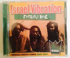 "Israel Vibration ""Feelin Irie"" CD Import Holland (2009) Roots Reggae New/Sealed"