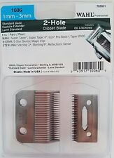 Wahl Professional  2 Hole Clipper Blade (1mm-3mm) #1006