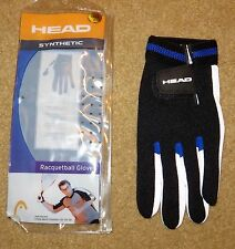 Head Synthetic Left Hand Racquetball Glove Large #986077-Ll New