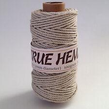 TRUE HEMP spool - NATURAL (no dye) HEMPCREATION - 2mm / 48lb - 140feet/ 43m 100g