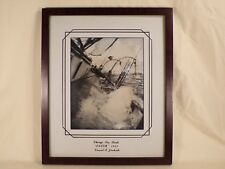 """Original 1929 Chicago Sea Scouts """"IDLER"""" Boy Scout Real Photo Ship Photograph"""