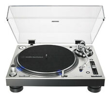 Audio-Technica AT-LP140XP Direct-Drive Professional DJ Turntable in Silver