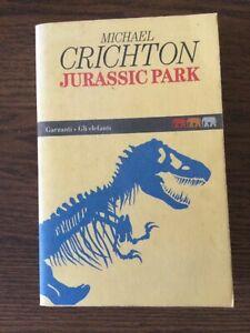 MICHAEL CRICHTON - JURASSIC PARK - 1a edizione de GLI ELEFANTI GARZANTI, 1995