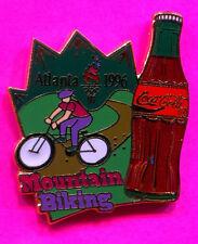 1996 OLYMPIC MOUNTAIN CYCLING PIN COCA COLA  ATLANTA GAMES PIN #412604