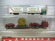 n23-0, 5 #2x Wiking, H0, Magirus Truck: 503 Lorry, 426 Flowers, NIP