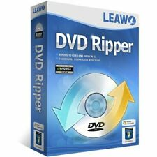 Leawo DVD Ripper Windows & Mac 1 PC Users 1 Year Retail License Latest Edition