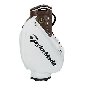 TaylorMade 2021 British Open Staff Tour Bag Brown White with Tags Free Shipping