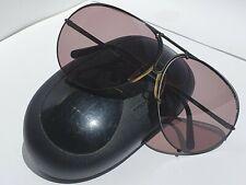 Vintage Porsche Design by Carrera Black sunglasses Model 5621 Made in  Austia