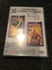 WWE Tagged Classics Wrestlemania 1 & 2 DVD WWF Rare