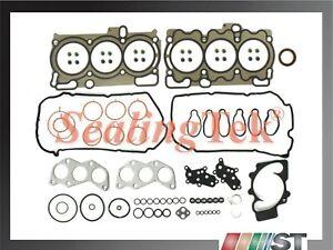 Fit 05-09 Subaru 3.0L Flat-6 EZ30D Engine Cylinder Head Gasket Set H6 motor kit