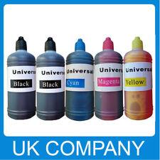 500 Ml Kit de botellas de Recarga de Tinta Premium Para Hp Cartucho NonOem Epson Canon vacía