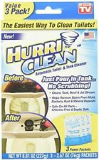 Ontel Products HurriClean Automatic Toilet and Tank Cleaner 3 Pack As Seen On TV