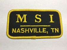 MSI Nashville Tennessee TN Marketing Strategies Roofing Contractor Logo Patch E