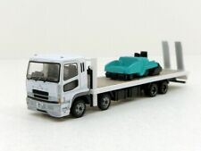 Tomytec 1/150 Truck Vol.12-Mitsubishi Fuso Super Great Heavy Equipment Carrier (