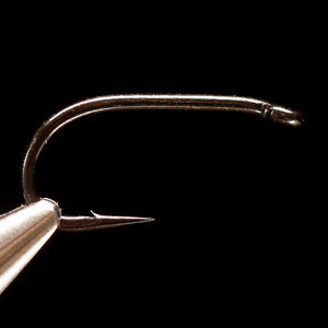 DAIICHI 2571 HOOK - Boss Steelhead Fly Tying Hooks - Black Finish - 25 Pack NEW