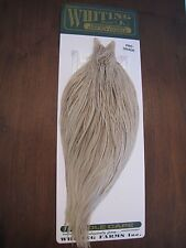 Fly Tying Whiting Farms Rooster Cape Light Grey Dun #D