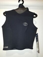 Wetsuit BARE Womens 3mm Neoprene Thermaskin Hooded Vest SIZE 16