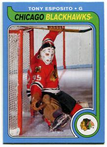2008-09 OPC Retro Tony Esposito Card #593 Chicago Blackhawks