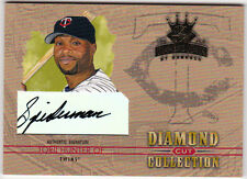 2004 Diamond Kings Torii Hunter Twin Cut Collection Spiderman Autograph /25 Auto