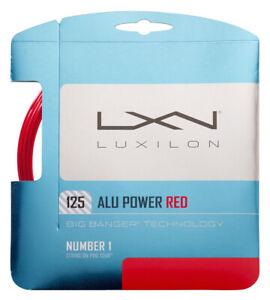 Luxilon Big Banger Alu Power LE 16L 1.25mm Tennis Strings Set