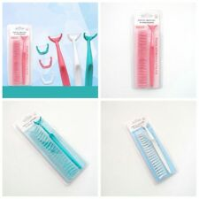 1 Set Dental Floss Disposable Heads Oral Cleaner Handle Holder Tooth Health Care