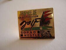 PINS VINTAGE GOLF TROPHEE DE LA DISTRIBUTION SOPAD NESTLE GOLFING wxc 32
