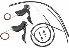 NEW 2018 Shimano 105 11 speed Shift/Brake Levers & Cables: ST-5800 BLACK