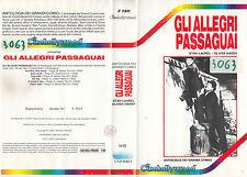 STANLIO E OLLIO - GLI ALLEGRI PASSAGUAI (1989) VHS