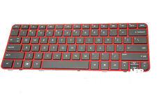 New HP Pavilion DM1-4000 DM1Z-4000 Keyboard Red Frame V110346AS1 677713-001