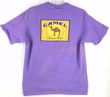 CAMEL Cigarette Vintage 1995 American Born Men's Purple T-Shirt (Size XL) *RARE*