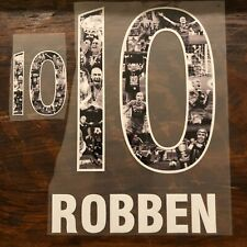 Robben 10 - Special Edition Jersey name set for FC Bayern Munich