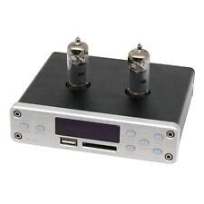 NFJ&FXAUDIO DP-02 HiFi Tube Preamplifier U Disk SD Card Bluetooth 3.5mm Jack X-