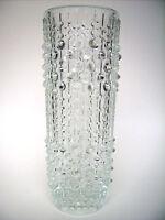 "Glas Vase Sklo Union ""candlewax"" Frantisek Peceny Czech glass Design 23cm 1,35kg"