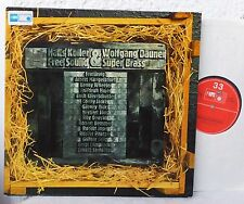 MPS  HANS KOLLER & WOLFGANG DAUNER - Free Sound & Super Brass  LP  Mangesldorff