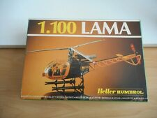 Model Kit Heller Helicopter LAMA on 1:100 in Box (sealed)