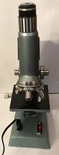 Mikroskop 50-1200, Mit Beleuchtetem Objektträger, Gebraucht.