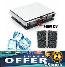 240w Refrigeration Plate Cooler Semiconductor Peltier Cold Cooling Fan Summer Us