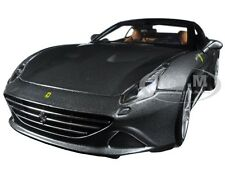 FERRARI CALIFORNIA T CLOSED TOP MET GREY SIGNATURE SERIES 1:18 BY BBURAGO 16902