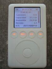IPOD CLASSIC 3 Gn  de 40GB de disco  funcionando bien, solo IPOD