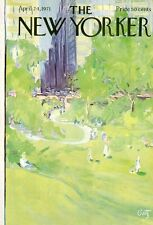 1971 Arthur Getz ART COVER ONLY -Central Park New York